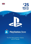 Playstation Network Gift Card 25 GBP UK-регион