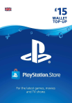 Playstation Network Gift Card 15 GBP UK-регион
