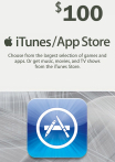 iTunes / App Store Gift Card 100 USD USA-регион