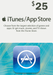 iTunes / App Store Gift Card 25 USD USA-регион