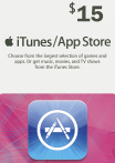iTunes / App Store Gift Card 15 USD USA-регион