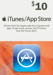 iTunes / App Store Gift Card 10 USD USA-регион