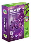 Dr.Web 10 для Windows + Криптограф. Лицензия 1 ПК, 1 год