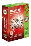 Dr.Web Security Space 10 + Криптограф. Лицензия 1 ПК, 1 год