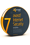 Avast! Internet security. Лицензия 1 ПК, 1 год