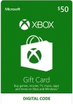 Xbox Gift Card 50 USD US-регион