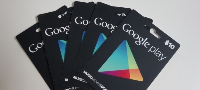 Google Play Gift Card 10 USD USA-регион