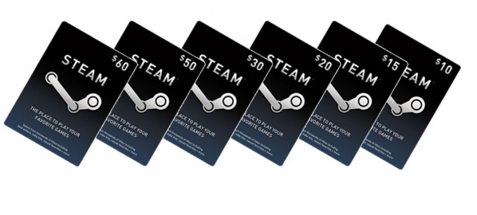 Steam Wallet Card 20 USD