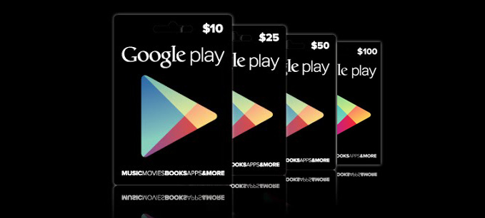 Google Play Gift Card 100 USD USA-регион