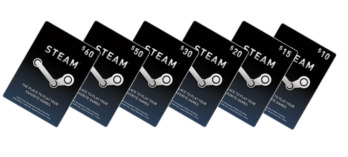 Steam Wallet Card 5 USD