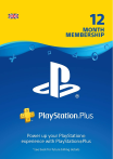 Playstation Plus Gift Card 365 дней UK-регион