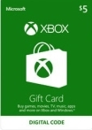Xbox Gift Card 5 USD US-регион