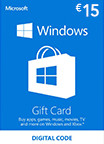Windows Store Gift Card 15 EUR EU-регион