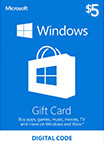 Windows Store Gift Card 5 USD US-регион