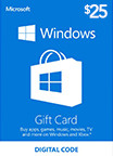 Windows Store Gift Card 25 USD US-регион