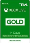 Xbox Live Gold Trial (Xbox One) Gift Card 14 дн RU/EU/US-регион