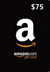 Amazon Gift Card 75 USD US-регион