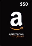 Amazon Gift Cards 50 USD