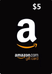 Amazon Gift Cards 5 USD