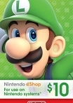 Nintendo eShop Gift Card 10 USD US-регион