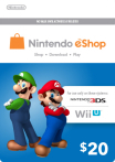 Nintendo eShop Card 20 USD