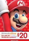 Nintendo eShop Gift Card 20 USD US-регион