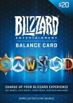 Blizzard Gift Card 20 USD US-регион