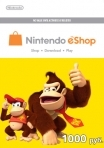 Nintendo eShop Card 1000 RUB