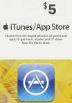 iTunes / App Store Gift Card 5 USD USA-регион