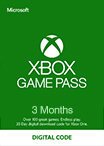 Xbox Game Pass Gift Card 3 мес RU/EU/US-регион