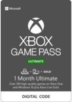 Xbox Game Pass Ultimate Gift Card 1 мес RU/EU/US
