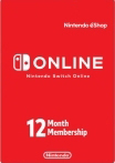Nintendo Switch Online Gift Card 12 мес. US-регион
