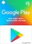 Google Play Gift Card 5 USD US-регион