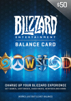 Blizzard Gift Card 50 USD US-регион