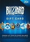 Blizzard Gift Card 20 EUR EU-регион
