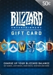 Blizzard Gift Card 50 EUR EU-регион