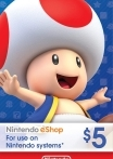 Nintendo eShop Gift Card 5 USD US-регион